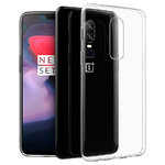 Flexi Thin Crystal Gel Case for OnePlus 6 - Clear (Gloss)